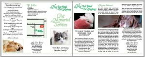 Pet Mortuary Brochure by generalbrievous