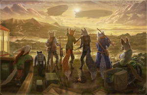 Welcome To The Regal Foxes by IceDragonhawk