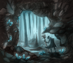 Lyrium Cave by capefoxalix