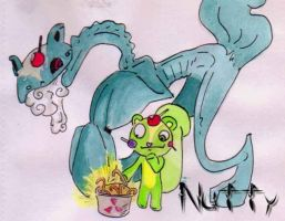 Nutty and the monster he is by htf