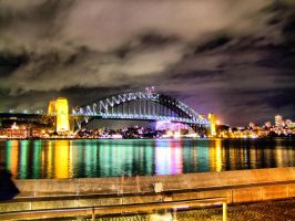 Sydney Harbour Bridge by elfullero