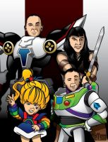 Mighty Family by GIG-Arts