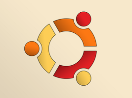 Ubuntu logo, shaded by 5t3f4n