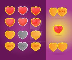 Hearts by InterGrapher