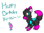 Happy Birthday Krissi by Tegan-the-Great