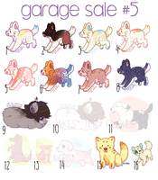 [11/16 OPEN] Adopt garage sale 5! by Ice-Flakes