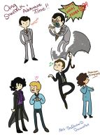 SherlockTime: Adventure time style by Not-TheDoctor