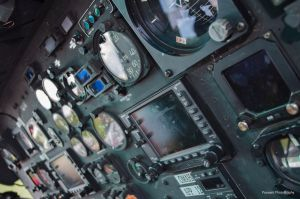Bell 206 Instrument Panels by ThirdGearPhotography