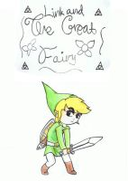 Link and the great fairy by Darklinknrone