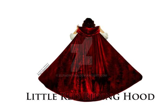 Little Red Riding Hood By Elphontina by elphontina