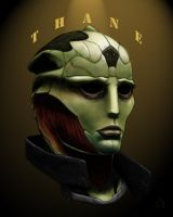 Mass Effect: Thane by Merwild