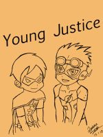Young Justice Kiddos by Oniarisawa12