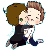 Harry and Niall by Melancholy-Puppet