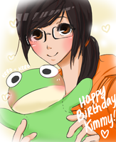 HAPPY BIRTHDAY KIMMY :D by CreativeClara