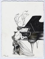 Piano Melody by taltalevi