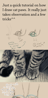 Cat Paw Tutorial by Lithestep