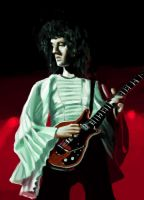 Brian May by Phasmageist