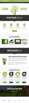EcoRecycling - a Multipurpose Wordpress Theme by sandracz