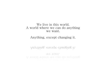 Anything we want. by swede