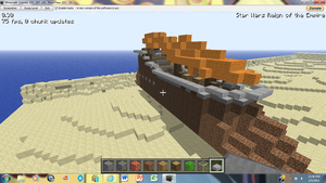 Minecraft Sail Barge 2 by irHAXOR
