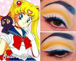 Sailor Moon Makeup by Luhivy