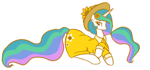 Sundress Celestia by TheSassyJessy