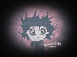 Edward Scissorhands- Johnny Depp Chibi by ily4ever95