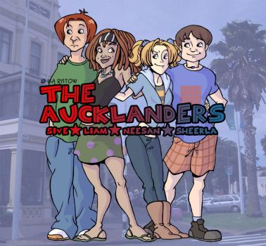 The Aucklanders Cover by CurseXX