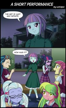 A SHORT PERFORMANCE by uotapo