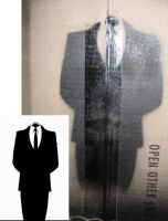 Suit Stencil by earwig20