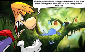 my biggest problem with rayman origins by miguy99