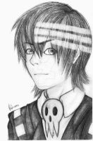 Death The Kid Portrait by Angel-of-the-Dark12