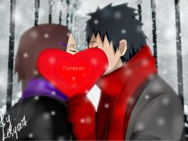 Obito and Rin: FOREVER by Lesya7