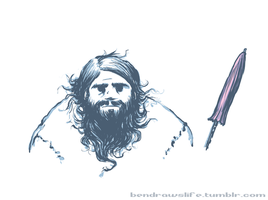 Hagrid doodle by bensigas