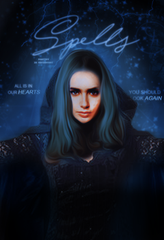 Spells | Lily Collins by paattryy