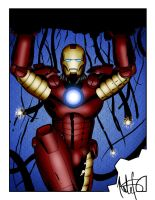 Iron man colored by Balsavor