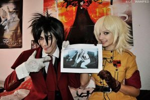 Hellsing HQ, it's  for you by Accado