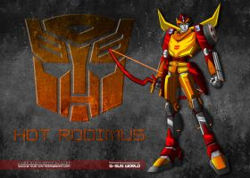 Hot Rodimus by neounicron