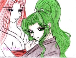 Touga and Saionji by letainajup