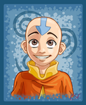 Aang by CartoonSilverFox