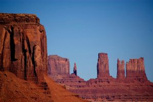 Deep in Monument Valley by djohn9