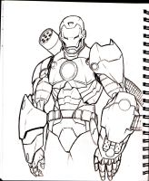 War Machine Sketch by acarabet