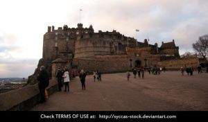 Edinburgh Castle 2 by syccas-stock