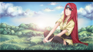 Kushina by AkinaSilver