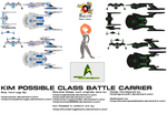 Kim Possible class Battle Carrier by Gunnut51