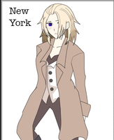 Female New York Hetalia OC by Aimizuki