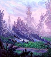 Alien colony by Clearmirror-StillH2O