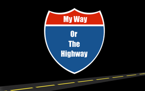 My way or the Highway by TechII