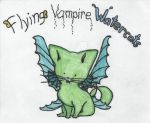 Flying Vampire Watercats by QueenNekoyasha