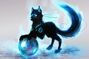 ORB WOLF GUARDIAN AUCTION 02 CLOSED by ElkaArt